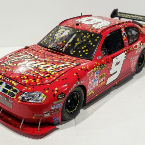 RCCA ELITE 2008 KASEY KAHNE #9 BUDWEISER ALL STAR RACED WIN DODGE CHARGER COT