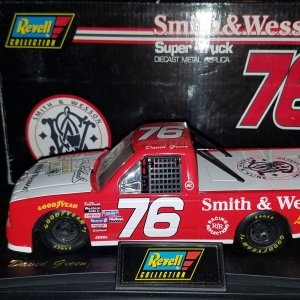 1996 David Green #76 Smith & Wesson 1/24