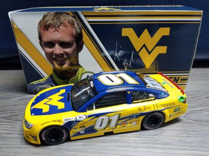 2017 Travis Braden West Virginia University ARCA Chevy SS ...