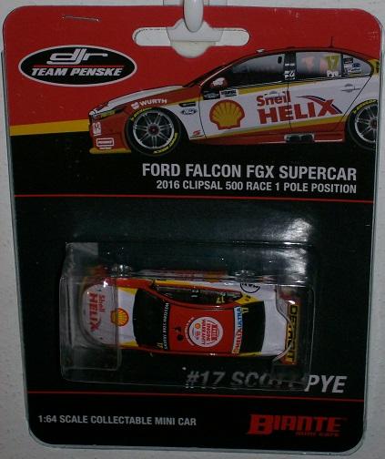 B64f16a 2016 Scott Pye 17 Shell Helix Fg X Falcon Diecast Crazy